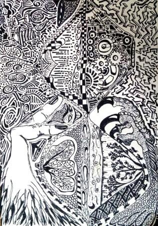 Illustration by Mashumi Dave