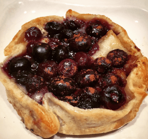 Blueberry Brie Galette