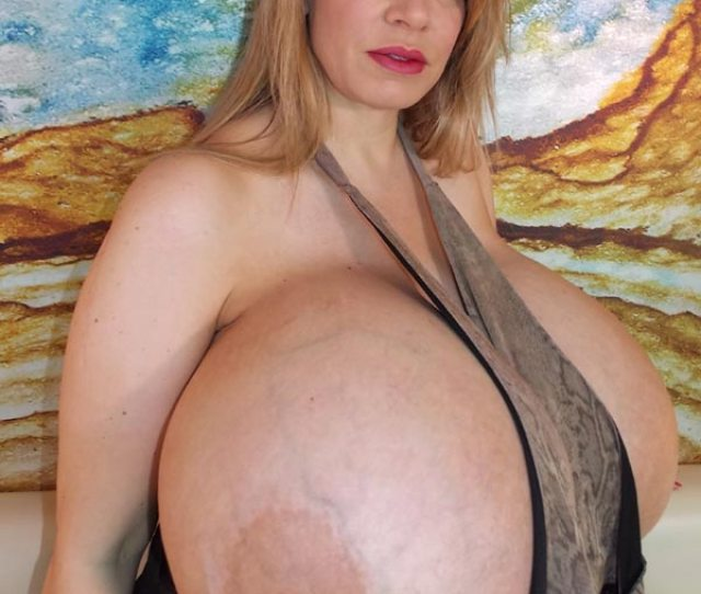 Chelsea Charms Massive Tits Are Way Too Big For A Tank Top