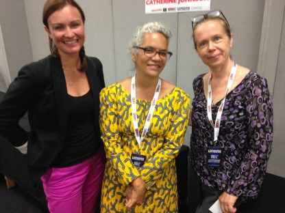 With Catherine Johson & Jenny Downham