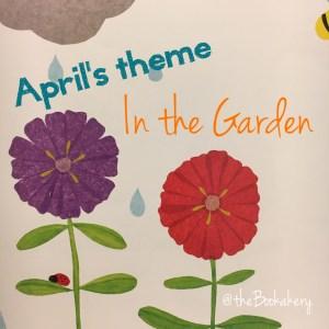 April Bookakery Box - In the Garden