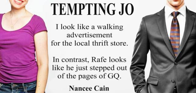 Release Day Blitz with Excerpt: Tempting Jo by Nancee Cain @Nancee_Cain