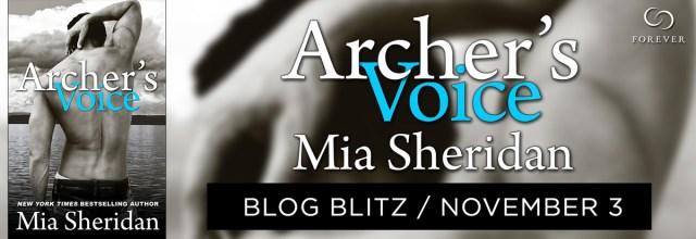 Sale Blitz: Archer's Voice by Mia Sheridan @MSheridanAuthor