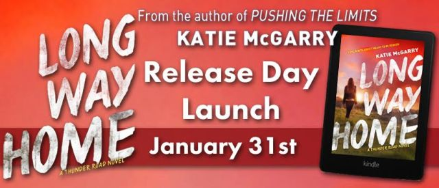 Release Day Launch with Excerpt & Giveaway: LONG WAY HOME Katie McGarry @katiemcgarry