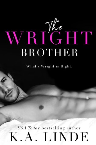 Cover Reveal: THE WRIGHT BROTHER by K.A. Linde @AuthorKALinde