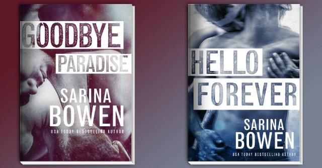 Book Review: Goodbye Paradise (Hello Goodbye #1) by Sarina Bowen @SarinaBowen