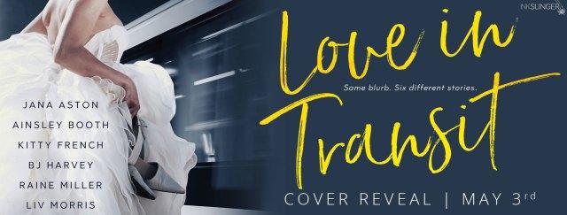 Cover Reveal: Love in Transit by Jana Aston, Ainsley Booth, Kitty French, BJ Harvey, Raine Miller, & Liv Morris  @InkSlingerPR