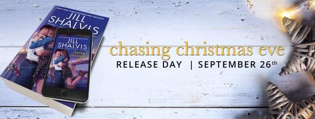 Release Day Blitz: Chasing Christmas Eve: A Heartbreaker Bay Novel by Jill Shalvis @JillShalvis  @InkSlingerPR
