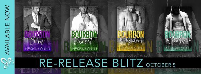 New Look: The Bourbon Series by Meghan Quinn @AuthorMegQuinn @jennw23
