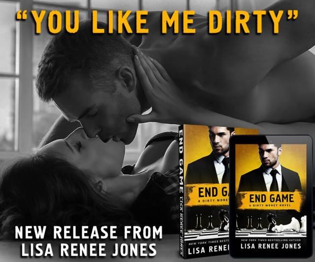 Review: End Game: A Dirty Money Novel by Lisa Renee Jones @LisaReneeJones @StMartinsPress