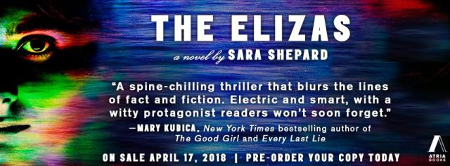 Review: The Elizas by Sara Shepard @sarabooks @AtriaBooks