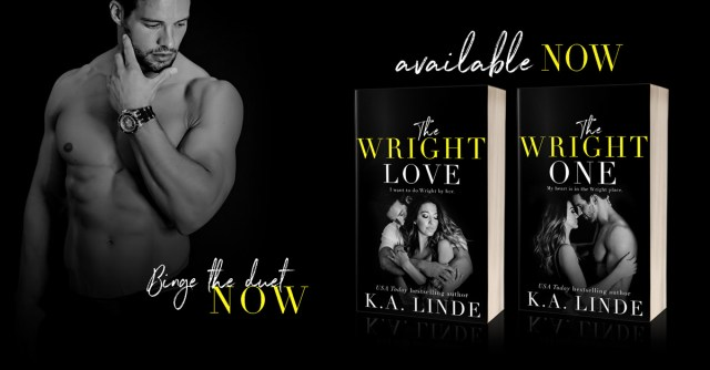 Review Blitz: The Wright One by K.A. Linde @AuthorKALinde @InkSlingerPR