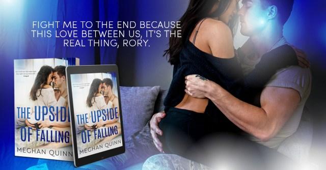 Release Day Blitz: The Upside of Falling by Meghan Quinn @AuthorMegQuinn @InkSlingerPR
