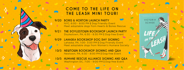 Blog Tour: Life on the Leash by Victoria Schade @VictoriaSchade @GalleryBooks