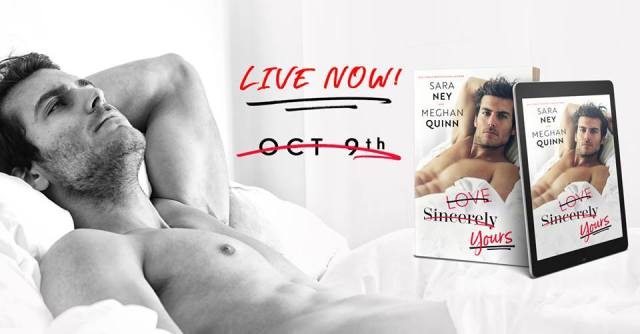 Audio Review: Love, Sincerely, Yours by Sara Nay & Meghan Quinn @InkSlingerPR