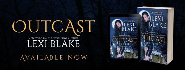 Release Day Blitz: Outcast Hunter: A Thieves Series, Book 4 By Lexi Blake @authorlexiblake @InkSlingerPR