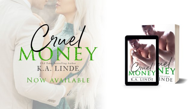 Review Tour: Cruel Money by K.A. Linde @AuthorKALinde @InkSlingerPR