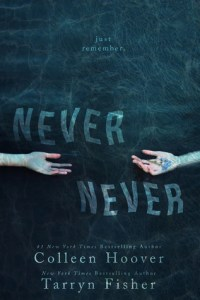 Book Review: Never Never by Colleen Hoover and Tarryn Fisher @colleenhoover @Tarryn_Fisher