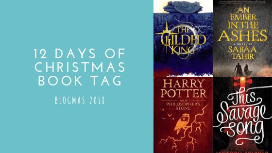 12 Days of Christmas Book Tag | Blogmas #5