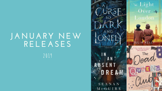 January New Releases | 2019 - the book blog life