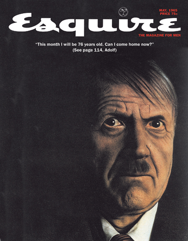 Adolf Hitler Esquire magazine cover by George Lois