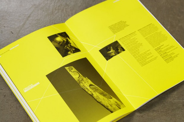 yellow and black publication