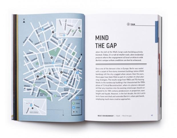 Berlin Design Guide interior map