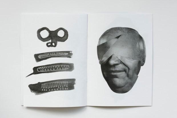 Jesse Draxler illustration zine design inspiration