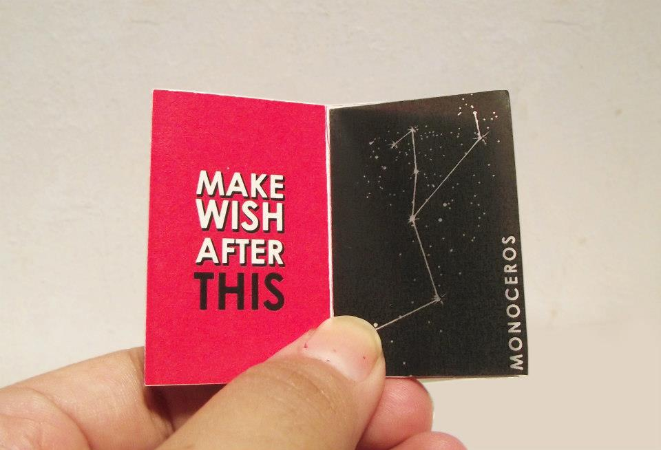 Small Comforts – A Matchbox Zine