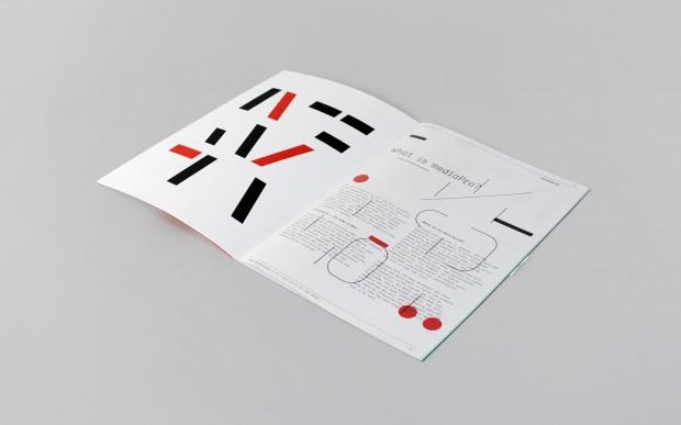 A brochure design for London-based marketing event, mediaPro
