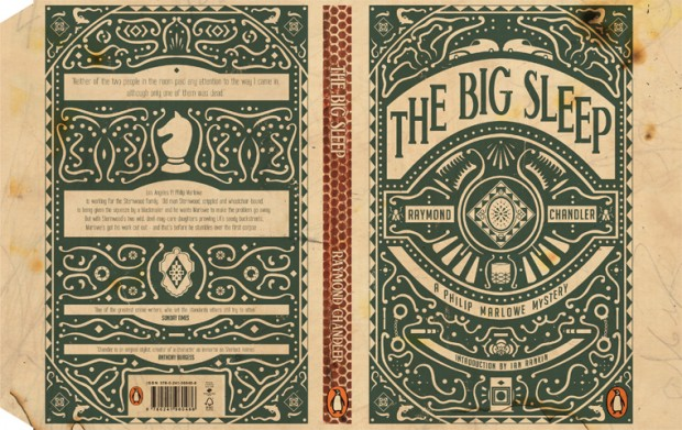 the big sleep book cover design inspiration
