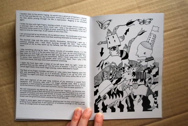 Twigs & Apples zine graphic design inspiration