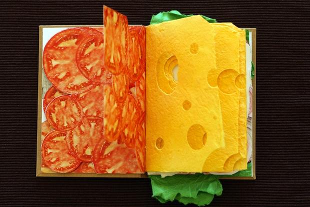 sandwich book clever creative design inspiration
