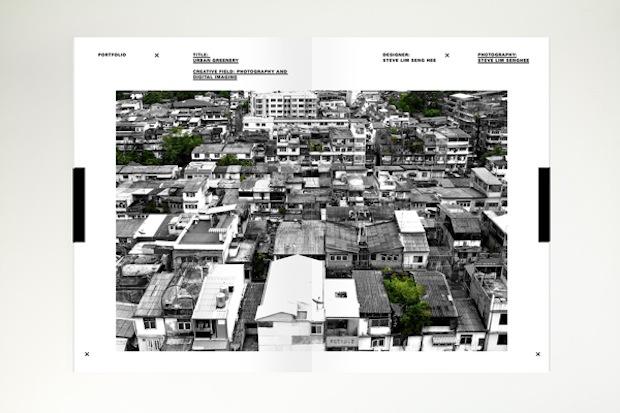 mini graphic design portfolio inspiration