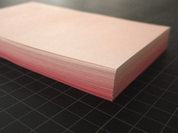 experimental book binding process