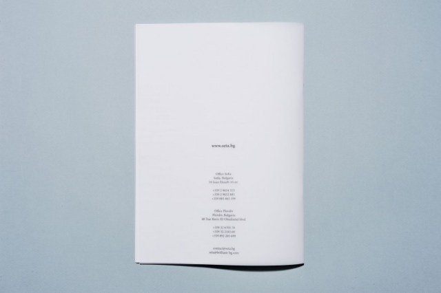 catalogue with a translucent cover design