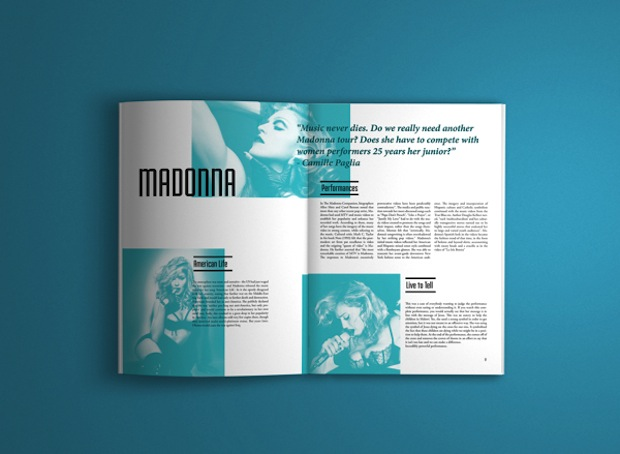 magazine spread design inspiration