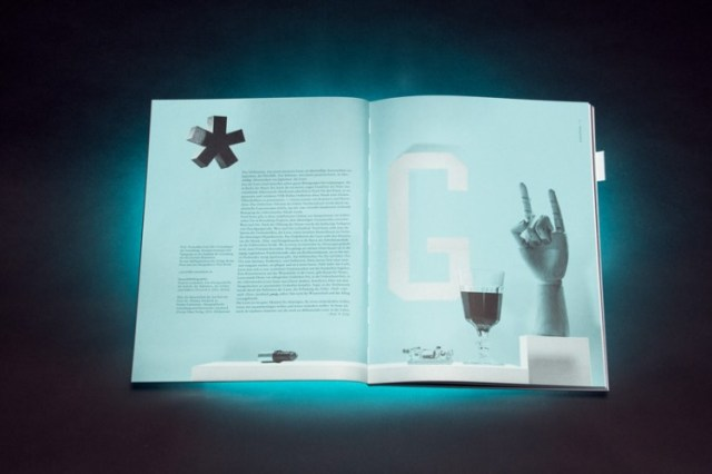 Graphic design inspiration – Komma magazine