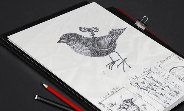 Haruki Murakami book cover illustration