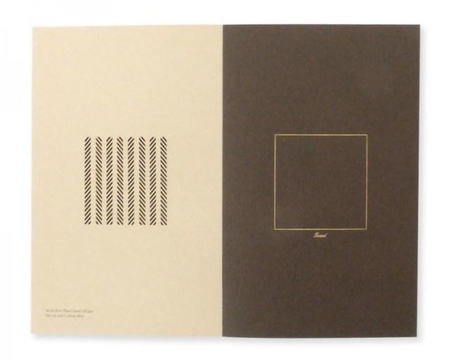 Paper swatch book design inspiration