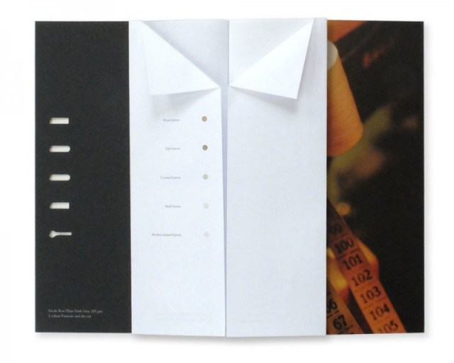 Paper swatch book design inspiration