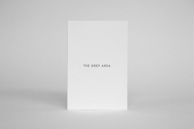 Book Design Inspiration – The Grey Area is a book on the subject of guilt