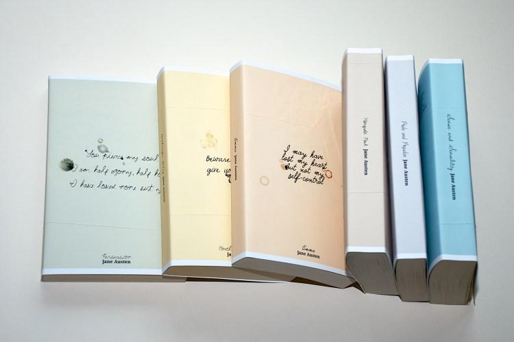 Jane Austen series cover designs
