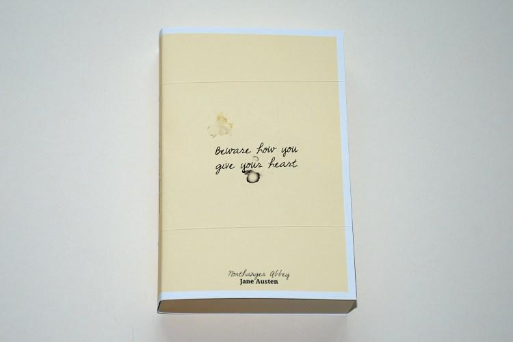 Jane Austen – Northanger Abbey book cover design