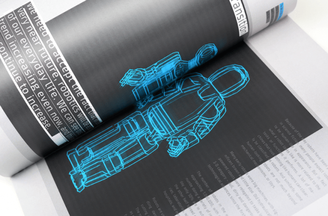 Magazine Design Inspiration – Lab is a biannual science & tech magazine