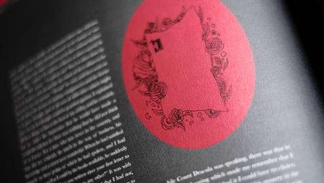 Book Design Inspiration – illustrated Dracula book