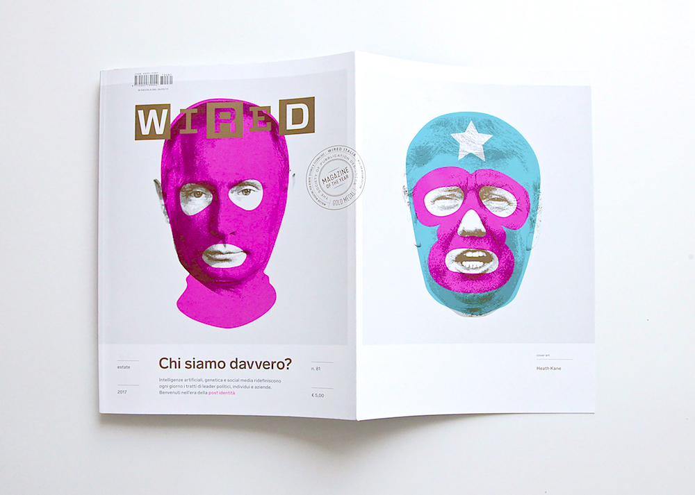 Masks of Fear: A look at Wired Italy's conspicuous cover