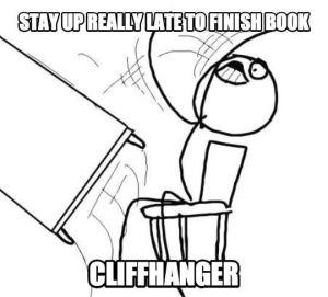 Cliffhanger-meme