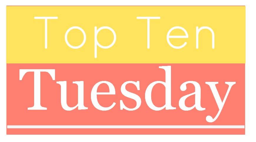 Literary Halloween (Top 10 Tuesday)