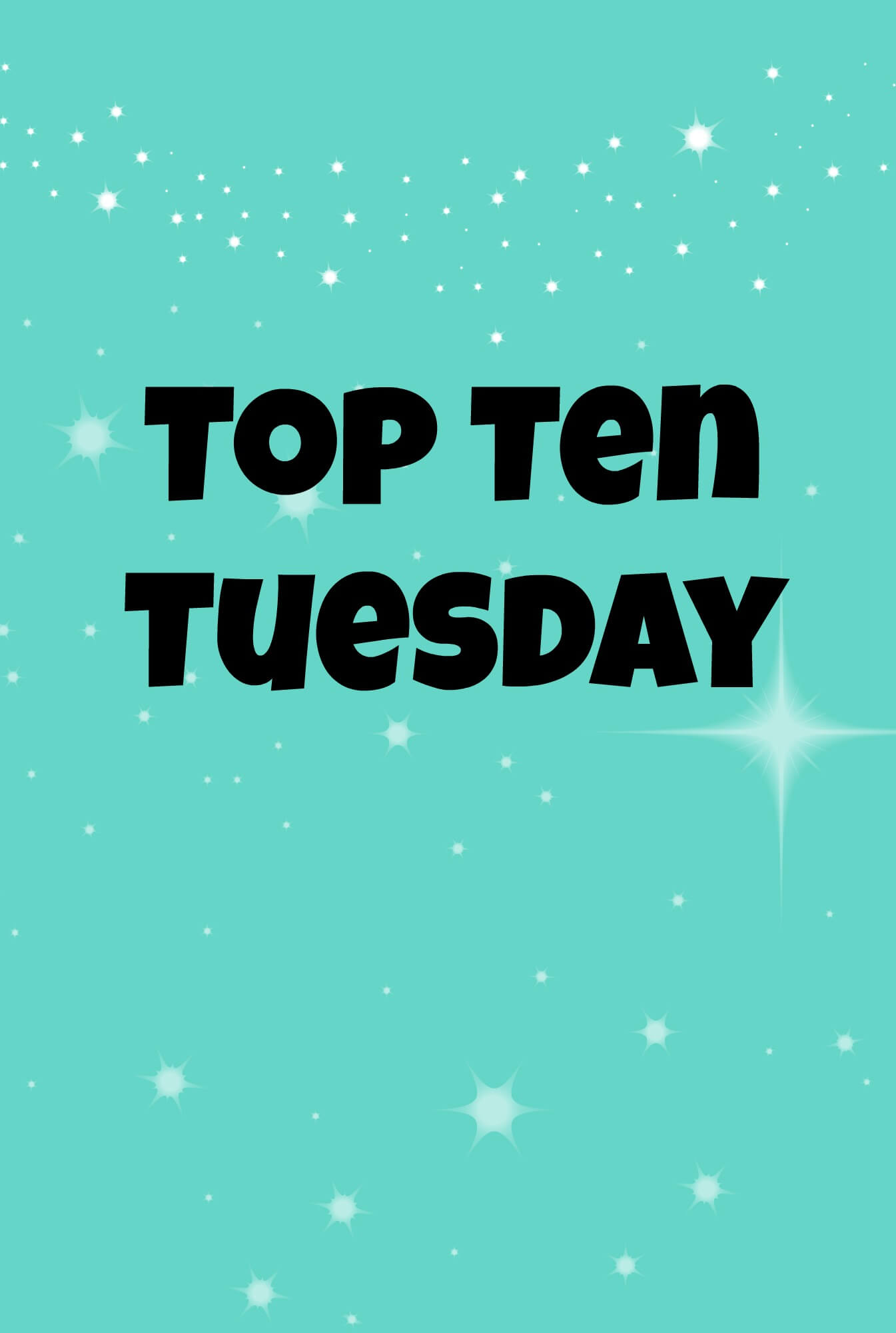 Books I don't rave about enough: Top Ten Tuesday
